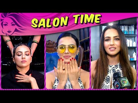 Sana Khan Gives Us HAIR CARE And STYLING Tips | Salon Time | TellyMasala thumbnail