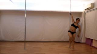Mouse Yu POLE DANCE VIDEO music from Bitter Sweet - dirty laundry