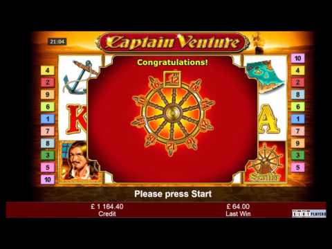 Another Captain Venture Slot Mega Big Win Novomatic Bellfruit Casino Youtube