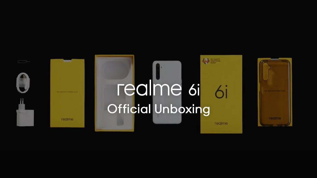 realme 6i | Official Unboxing