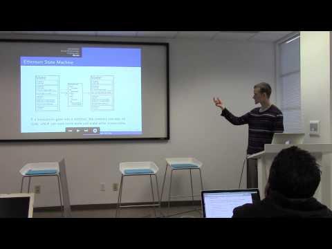 Blockchain U: Ethereum Vitalik Buterin Part 1
