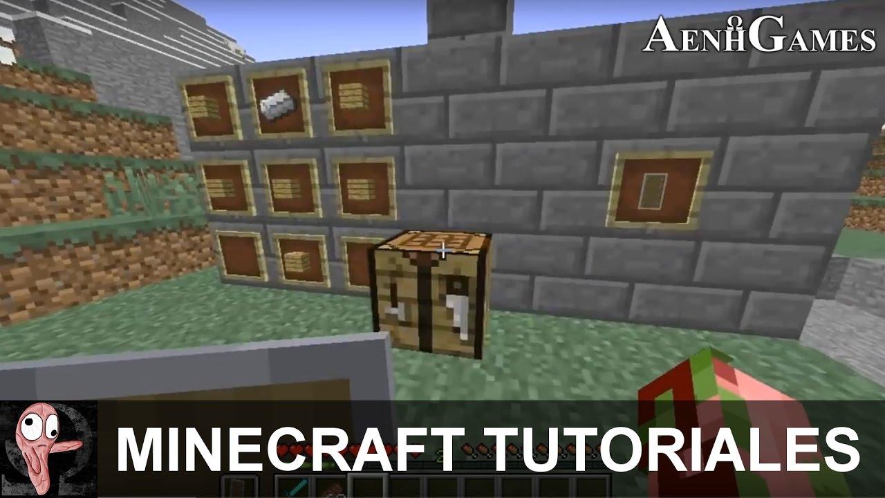 Cómo Hacer Un Escudo En Minecraft 1.9 1.10 - Minecraft Tutoriales - YouTube