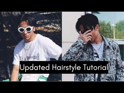 Middle Part Hairstyle Tutorial