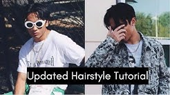 SPLIT/MIDDLE PART HAIRSTYLE TUTORIAL