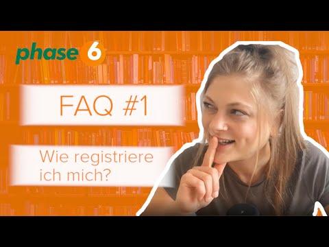 Registration phase6 - FAQ #1