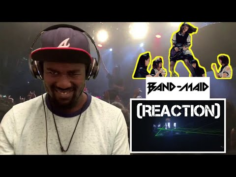 Band-Maid (Moratorium Live) Drummer's First Reaction