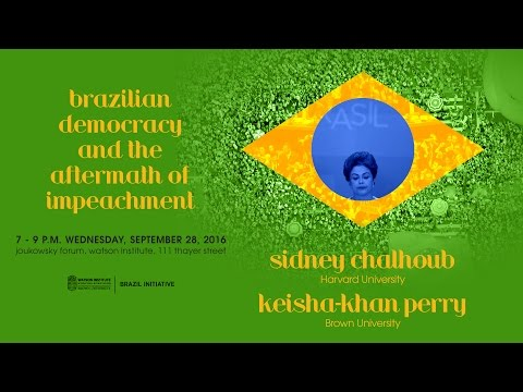 Brazilian Democracy and the Aftermath of Impeachment
