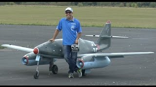 GIANT SCALE RC JET: ME-262 (Ali Machinchy)