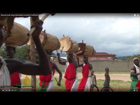 Burundi youth wing Imbonerakure accused of political intimidation