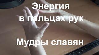 Энергия пальцев рук. Пальчиковая гимнастика. Мудры славян.