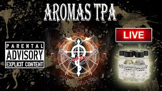 La Noche de la Alquimia 29 programa 04/01/2016. Revisión de aromas TPA
