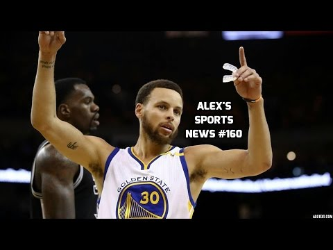 Warriors Destroy The Spurs! Man City Beat West Brom! Predators Beat The Ducks! Alex's Sports News #1