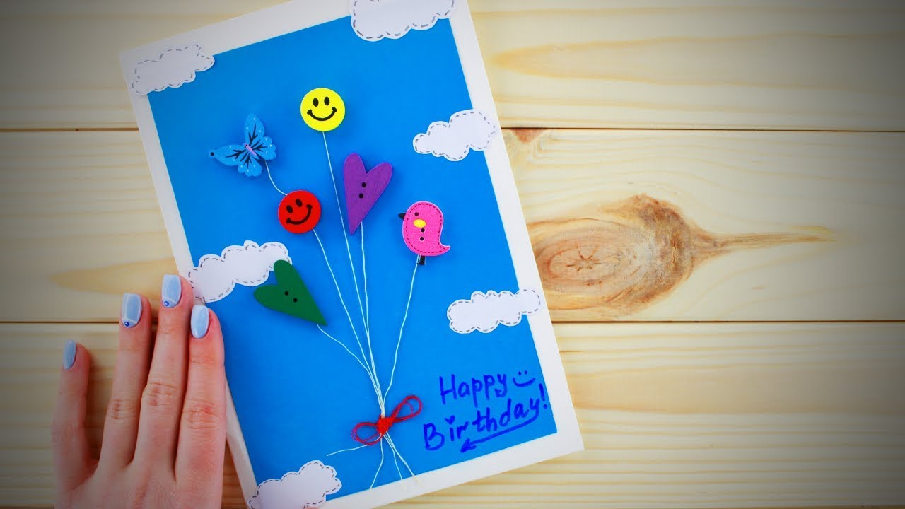 Do It Yourself Gifts Easy DIY Birthday Card Ideas Life Hacks