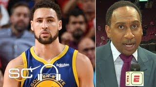 Stephen A. 'doesn't kฑow what the hell is going on' with Klay Thompson | SC with SVP