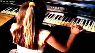 Pugacheva Alla  - Lyubov pokhozhaya na son Viktoria Derevyanko piano cover 1995 year