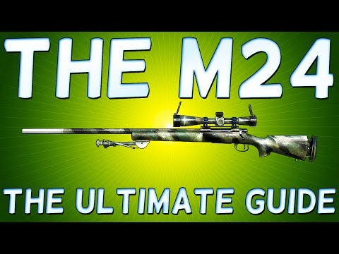 PLAYER Unknown's BATTLEGROUNDS M24 - ONE of the BEST SNIPER Rifles! BATTLEGROUNDS M24