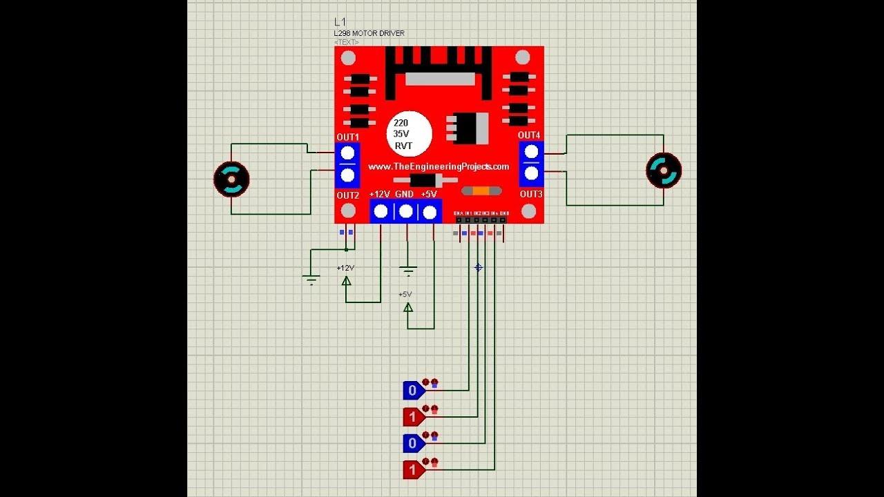 medium resolution of h bridge ic pin diagram