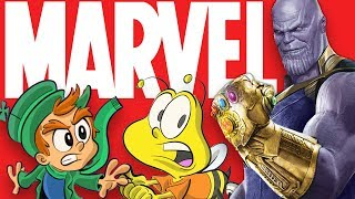 The Avengers VS. Cereal Box Mascots: INFINITY WAR