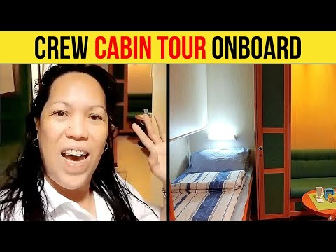 Crew Cabin Tour Onboard An Offshore Vessel