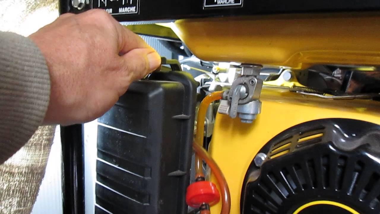 Champion Generator Running Rough