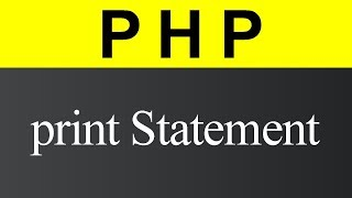 print Statement in PHP (Hindi)