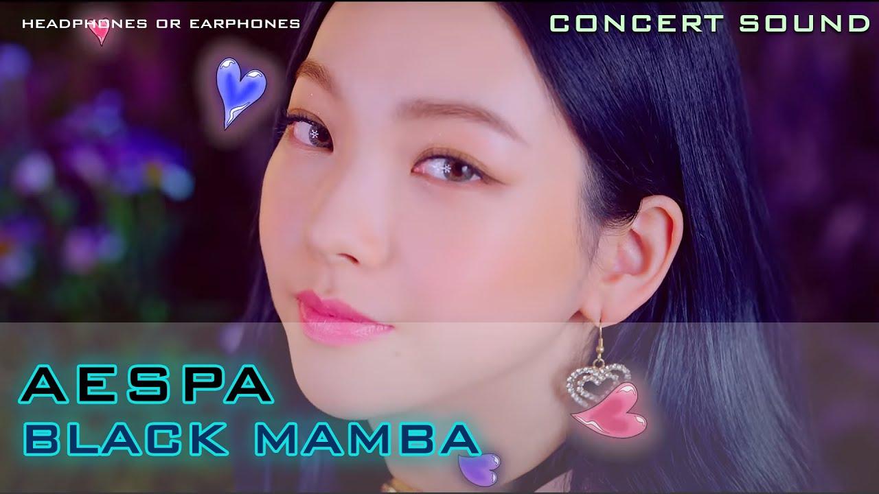 🔈CONCERT SOUND  AESPA(에스파) - BLACK MAMBA