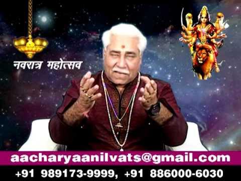 How To Pray Maa Navratri Puja Vidhi By Acharya Anil Vats ji
