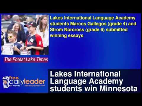 Lakes International Language Academy students win Minnesota Twins Jackie Robinson essay contest