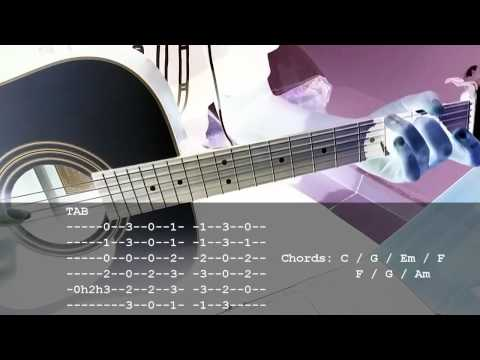 L'Arc-en-Ciel / LOST HEAVEN [ACOUSTIC GUITAR LESSON]