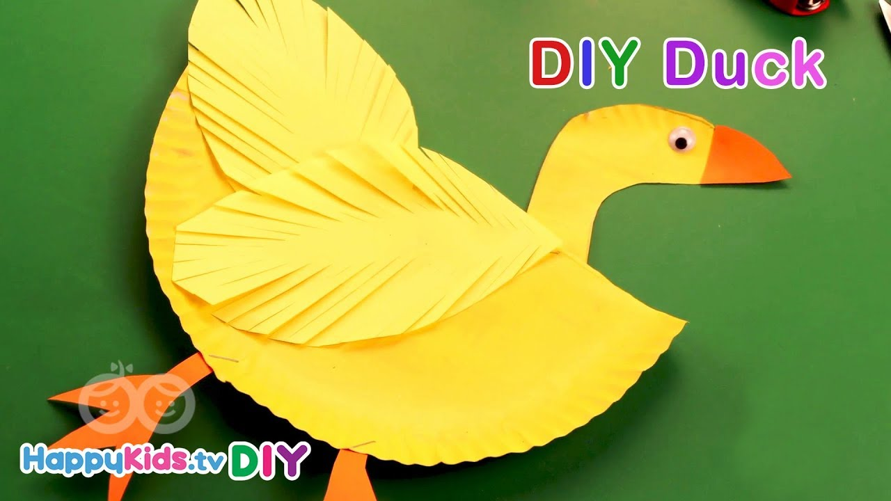 DIY Duck | Paper Crafts | Recycled Art | Kid\'s Crafts and Activities ...