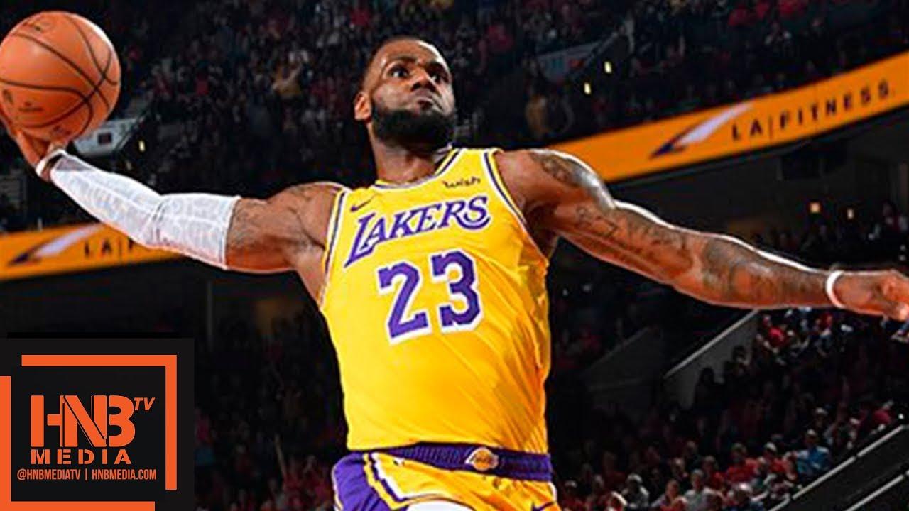 Los Angeles Lakers Vs Portland Trail Blazers Full Game Highlights 10 18 2018 Nba Season Youtube