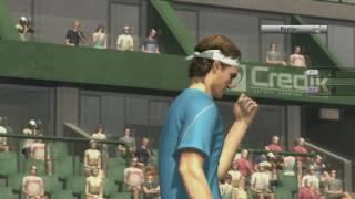 Smash Court Tennis 3: Online Game VS deftmartin1 (Xbox 360)