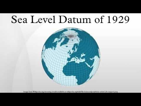 Sea Level Datum of 1929