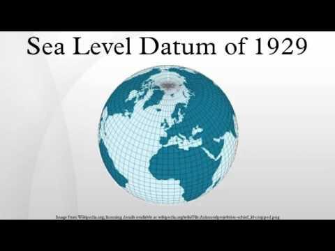 Sea Level Datum of 1929