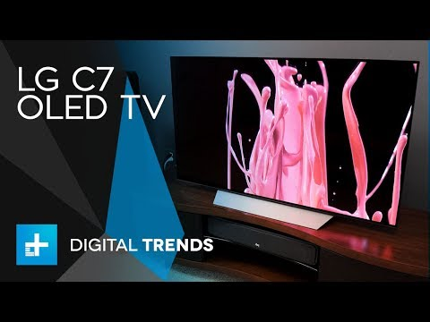 LG C7 OLED TV - Hands On Review