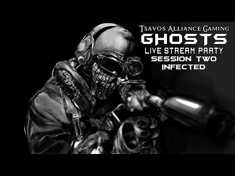 GHOSTS: Infected - Session Two - Charlie's Angels Special with K.E.M. Strikes