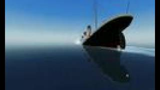 Sinking of Titanic (ship simulator 2008)