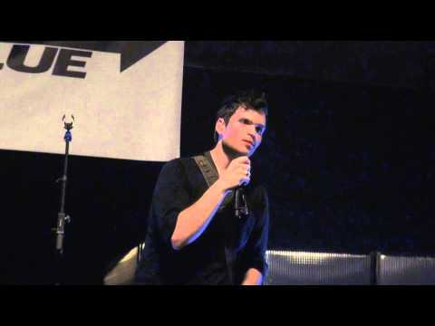 Jimmy Needham - his Testimony - Clear The Stage Tour NY 2013