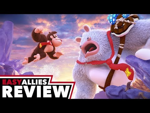 Mario + Rabbids Kingdom Battle Donkey Kong Adventure - Easy Allies Review