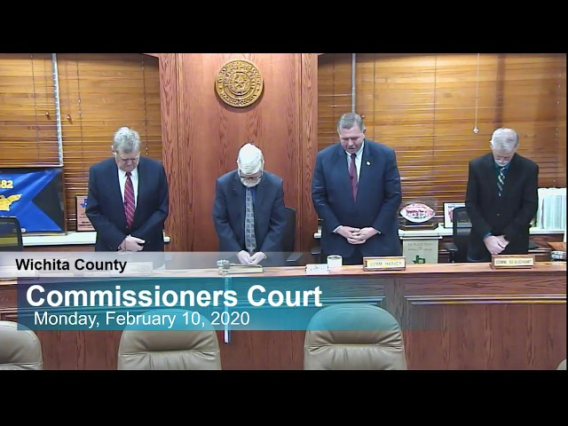 Commissioners Court 02/10/2020 Part 1