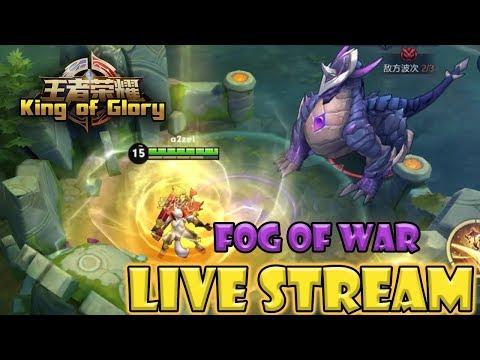 King of Glory live stream: FOG OF WAR MODE