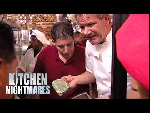 Gordon Shuts Down Restaurant After Finding Old Pork - Kitchen Nightmares