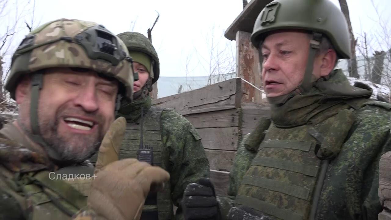 Позиции ДНР в Старомихайловке
