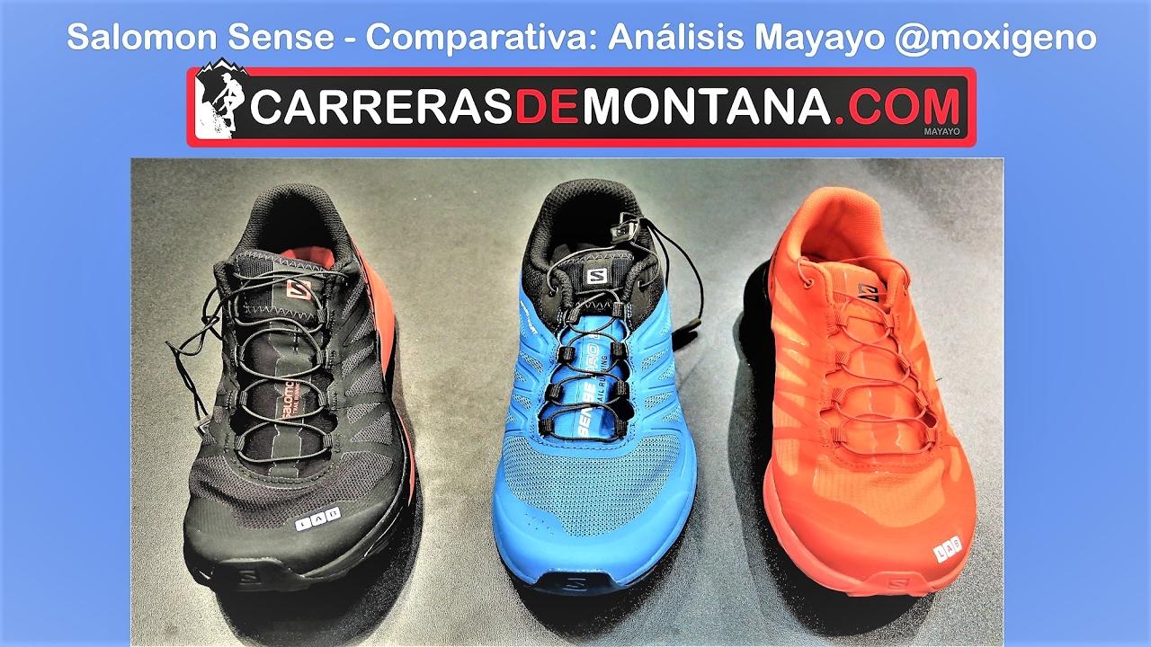 Por Sense Ultra Vs Pro2 SgComparativa Salomon Mayayo Sense6 Zapatillas Slab Trail sQrxothCBd