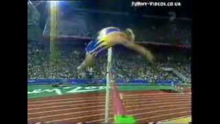 pole vault gone wrong