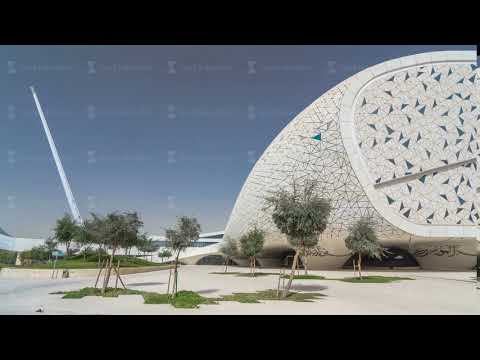 View of the Education City Complex timelapse hyperlapse launched by the Qatar