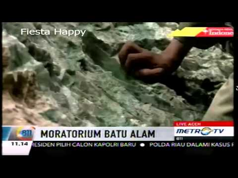 Batu Giok Super 20 Ton Ditemukan Di Aceh