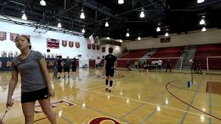 CIF SS Finals | Arcadia v Diamond Bar | XD | Alan/Melody