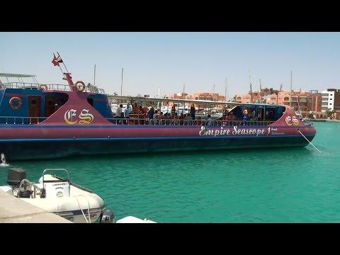 Красное море, Хургада, экскурсия на батискафе Empire Seascope