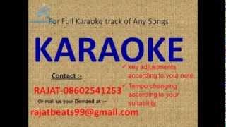 O Sanam Tere Ho Gaye Hum Karaoke Track